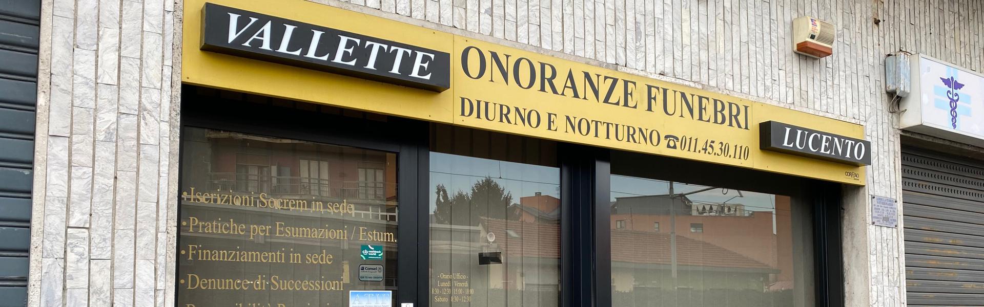 Onoranze Funebri Vallette Lucento